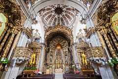 Igreja do Carmo. PORTO, PORTUGAL - JULY 01: Carmo Church interior on July 01, 2014 in Porto, Portugal Royalty Free Stock Photo