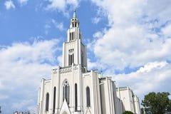 Igreja do coração o mais puro de Mary Fotografia de Stock