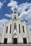 Igreja do coração o mais puro de Mary Imagens de Stock Royalty Free