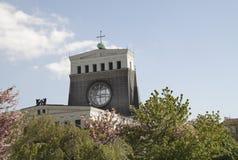A igreja do coração o mais sagrado de nosso Lord Prague Foto de Stock
