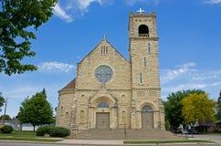 Igreja do coração sagrado Imagem de Stock Royalty Free