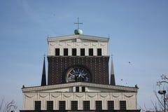 Igreja do coração sagrado, Praga Imagens de Stock Royalty Free