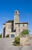 Igreja do corpus Domini. Montefiascone. Lazio. Itália. fotografia de stock royalty free