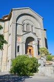 Igreja do corpus Domini. Montefiascone. Lazio. Itália. imagem de stock royalty free
