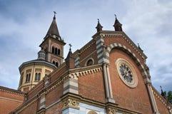 Igreja do corpus Domini. Piacenza. Emilia-Romagna. imagem de stock