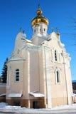 Igreja do cossaco da natividade Foto de Stock Royalty Free