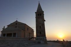 Igreja do dell'Angelo de Madonna Fotos de Stock Royalty Free