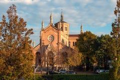 Igreja do delle Grazie de Madonna Pordenone Itália fotos de stock