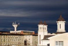 Igreja do distrito Imagem de Stock Royalty Free