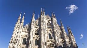 Igreja do domo em Milão Imagem de Stock