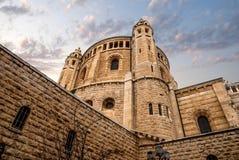 Igreja do Dormition, Jerusalem Fotografia de Stock Royalty Free