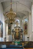Igreja do espírito santo, Copenhaga Fotos de Stock