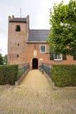 Igreja do Frisian, (1ó século) preservado perfeitamente Imagens de Stock