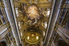 Igreja do Gesu, Roma, Itália Fotos de Stock Royalty Free
