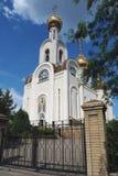 Igreja do Hierarch santamente Dimitry, metropolita de Rostov imagens de stock royalty free