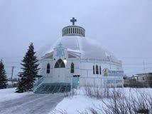 Igreja do iglu imagens de stock royalty free