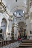 Igreja do interior de Saint Peter e de Paul em Krakow, Polônia Imagens de Stock Royalty Free