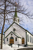 Igreja do inverno Fotos de Stock