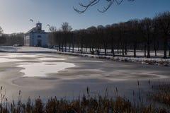 Igreja do inverno Imagens de Stock Royalty Free