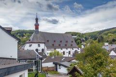 Igreja do jesuíta, Munstereifel mau, Alemanha Fotografia de Stock