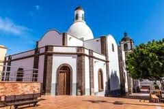 Igreja do La Candelaria-Ingenio, Gran Canaria, Espanha fotografia de stock