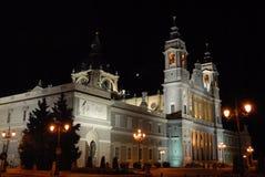 Igreja do Madri Foto de Stock Royalty Free