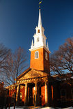 Igreja do memorial de Harvard Foto de Stock Royalty Free