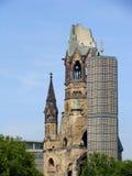 Igreja do memorial de Kaiser William foto de stock