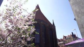 Igreja do mercado do Sts George e James, Hannover, Alemanha filme