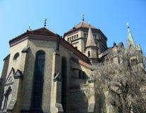 A igreja do milênio - Timiso fotografia de stock