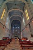 Igreja do monastério de Latrun, Israel Fotografia de Stock Royalty Free