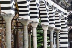 Igreja do monastério de Rila imagem de stock