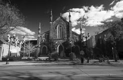Igreja do outono Fotografia de Stock