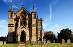 Igreja do país Foto de Stock Royalty Free
