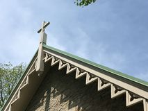 Igreja do país velho Imagem de Stock Royalty Free