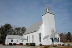 Igreja do país velho, Virgínia Fotos de Stock Royalty Free
