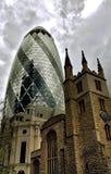 Igreja do pepino e do Andrew Undershaft de Saint Fotos de Stock Royalty Free