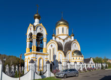 Igreja do portador régio da paixão de Saint Kursk Rússia Fotos de Stock