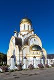 Igreja do portador régio da paixão de Saint Kursk Rússia Fotos de Stock Royalty Free