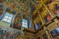Igreja do príncipe Demitry o mártir do século XVII, Uglich, Rússia Imagens de Stock