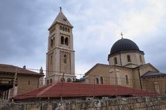 Igreja do redentor - Jerusalém - Israel fotos de stock