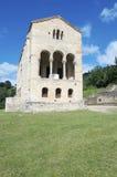 Igreja do Romanesque imagem de stock