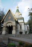 Igreja do russo   Fotos de Stock Royalty Free