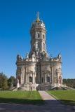 Igreja do russo no estilo italiano Fotografia de Stock