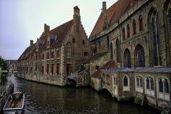 Igreja do ` s de Bruges imagens de stock