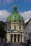 Igreja do ` s de Frederik em Copenhaga imagens de stock royalty free