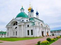 Igreja do ` s de St Anne e St Jacob Church no monastério santamente Yakovlevsky Rostov, Rússia Imagem de Stock