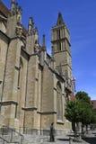 Igreja do ` s de St James, der Tauber do ob de Rothenburg Fotos de Stock Royalty Free