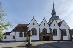 A igreja do ` s de St John no tersloh do ¼ do condado GÃ de Rietberger_, Rh norte imagem de stock royalty free