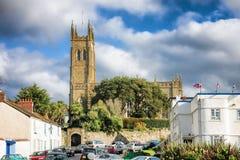 Igreja do ` s de St Mary em Penzance, Cornualha, Inglaterra fotos de stock royalty free
